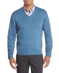 Toyon v neck sweater medium 331104