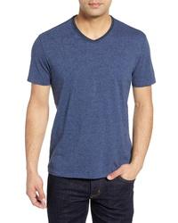 Robert Barakett Flynn Rolled V Neck T Shirt