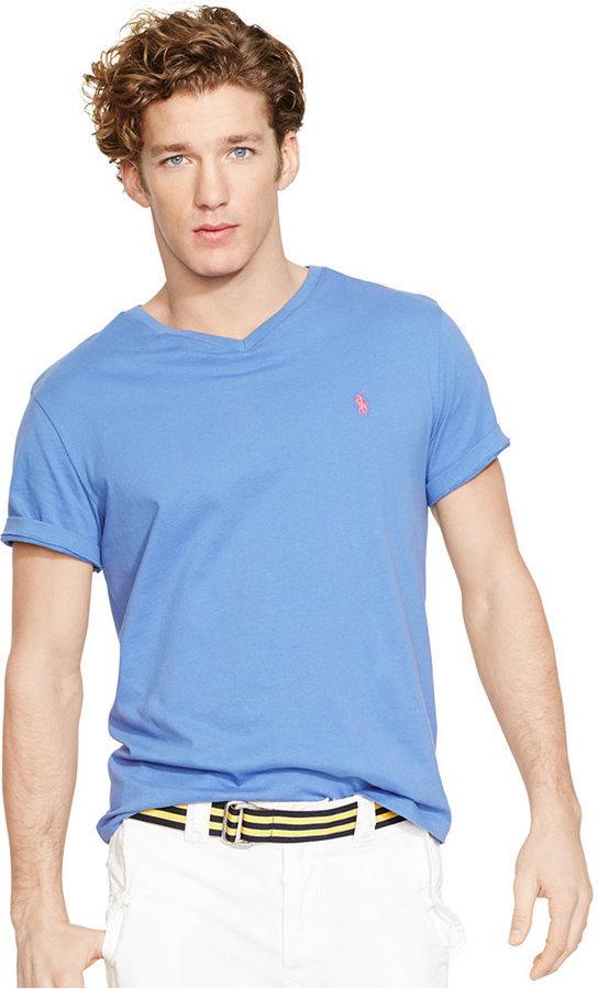 2f00c5165 ... Polo Ralph Lauren Jersey V Neck T Shirt ...