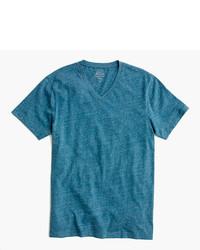 Slim broken in v neck t shirt medium 754064