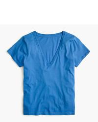 J.Crew Supersoft Supima V Neck T Shirt
