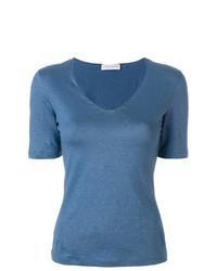 Le Tricot Perugia V Neck T Shirt