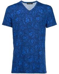 Versace Olympus V Neck T Shirt