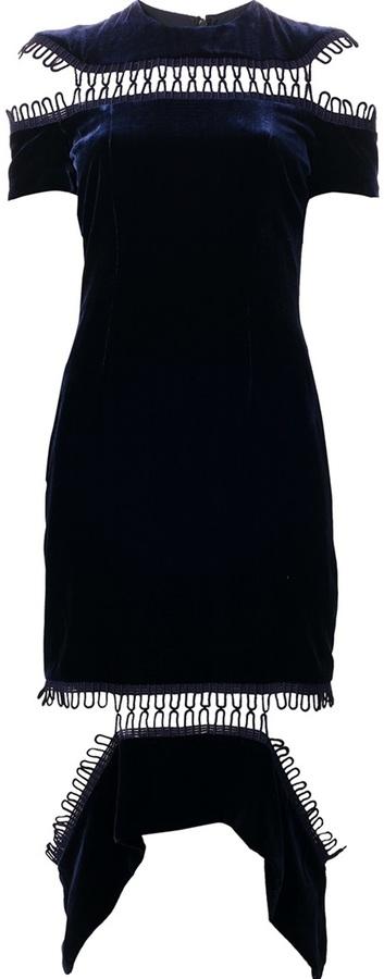 Christopher Kane Loop Panel Dress
