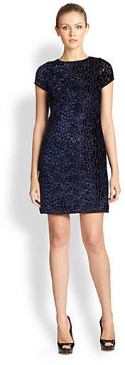 Where To Buy Shoshanna Dresses Julia Panne Velvet Dress