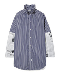 Balenciaga Ed Cotton Poplin Shirt