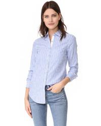 Jean stripe classic shirt medium 1342868