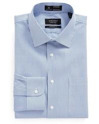 Nordstrom Shop Smartcare Traditional Fit Stripe Dress Shirt