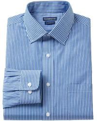croft & barrow Slim Fit Striped Dress Shirt