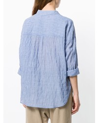 Xirena Striped Button Up Shirt