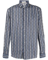 Etro Chain Striped Buttoned Shirt