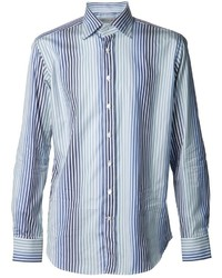 Etro Vertical Striped Shirt