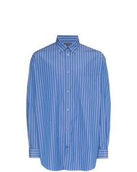 Balenciaga Logo Stripe Shirt