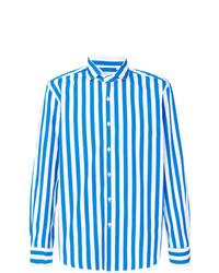 Xacus Striped Long Sleeve Shirt