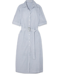 Anna Quan Zola Striped Cotton Midi Dress
