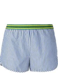 Mauro Grifoni Striped Mini Shorts