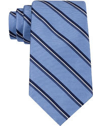Blue Vertical Striped Tie