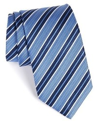 Jz Richards Stripe Silk Tie