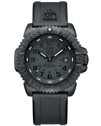 Luminox 44mm Navy Seal 3050 Series Colormark Watch Black
