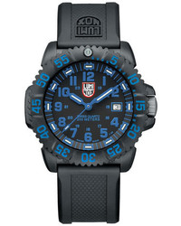 Luminox 44mm Navy Seal 3050 Series Colormark Watch Blue