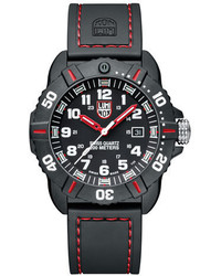 Luminox 44mm Sea Series Coronado 3035 Watch Red