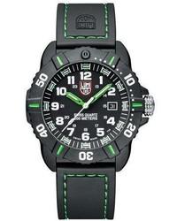 Luminox 44mm Sea Series Coronado 3037 Watch Green