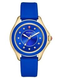 Cape topaz dial silicone strap watch 40mm medium 3684771