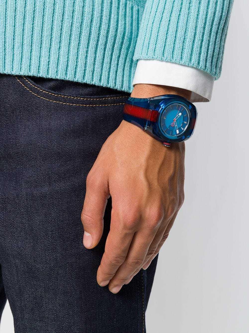 04492d7eb5d Gucci Gg Web Sync Watch
