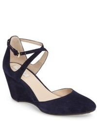 Cole Haan Lacey Ankle Strap Wedge Pump