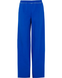 Blue Wide Leg Pants