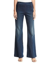 Claire sailor trouser jeans blue medium 1252907