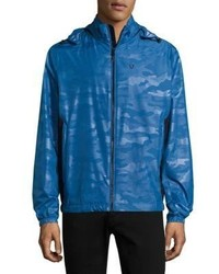 Strellson Camouflage Waterproof Windbreaker