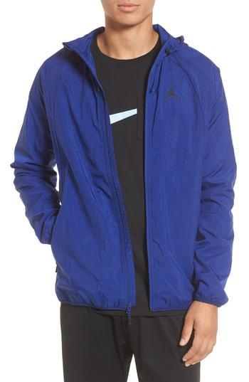afeadcf833 NIKE JORDAN Wings Windbreaker Jacket, $110 | Nordstrom | Lookastic.com