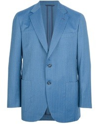 Blue Wool Blazer