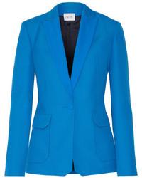 Andrea grain de poudre wool blazer azure medium 1152584
