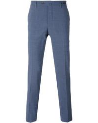Blue Wool Chinos
