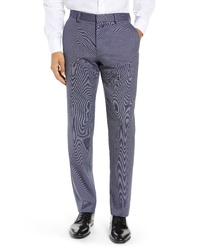 BOSS Gains Solid Wool Blend Trousers