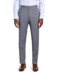 BOSS Genius Solid Wool Dress Pants