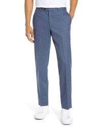 Nordstrom Men's Shop Trim Fit Stretch Wool Pants