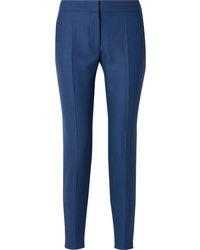 Stella McCartney Wool Piqu Straight Leg Pants