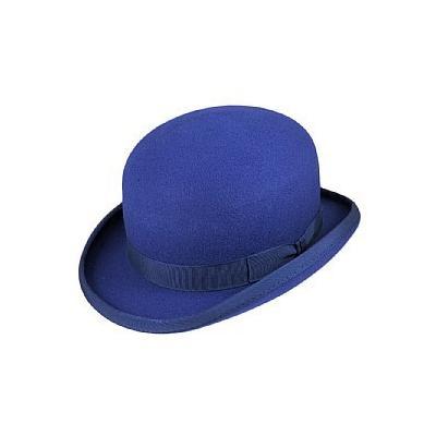 655afc23fa390a Christys' Hats Christys Hats Wool Felt Bowler Blue, $50 | Village ...