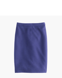 J.Crew Tall No 2 Pencil Skirt In Double Serge Wool