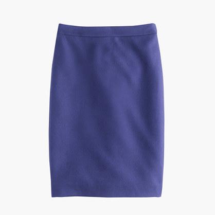 3ff5bedb87 J.Crew Tall No 2 Pencil Skirt In Double Serge Wool, $98 | J.Crew ...