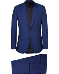 Paul Smith London Blue Slim Fit Wool And Mohair Blend Suit