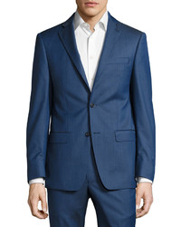 Michael Kors Michl Kors Slim Fit Two Button Two Piece Suit Blue