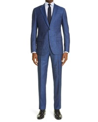 Emporio Armani Trim Fit Wool Suit