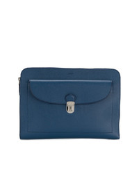 Tod's Pebbled Clutch Bag
