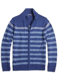 Brooks Brothers Merino Wool Full Zip Sweater