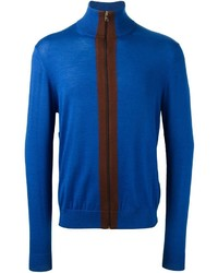 Paul Smith Contrast Zip Cardigan