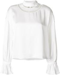 Blusa blanca de Fendi